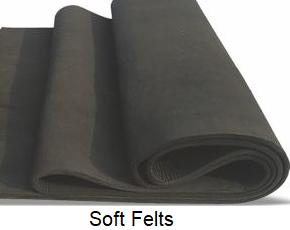 graphite soft felts